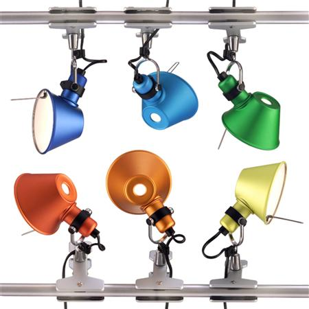 Tolomeo Micro Pinza aplique de pared color Artemide