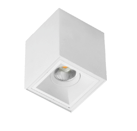 Peijo plafón de techo 100 mm.Led 8w.calido