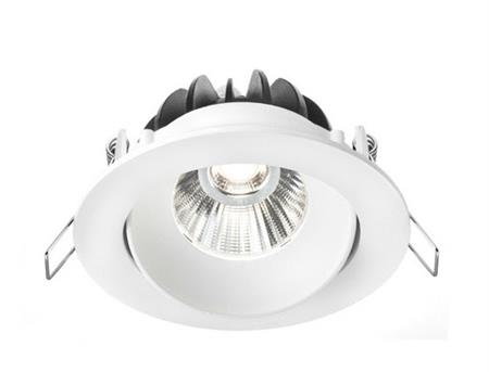 Vizu empotrable de interior Ø96x53mm.Led 7w.calido