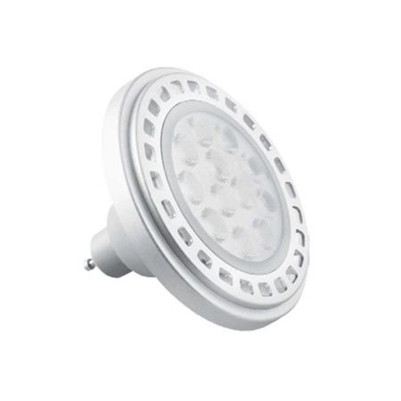 Lámpara Led 15w.220v.pvc zocalo Ar111 calido