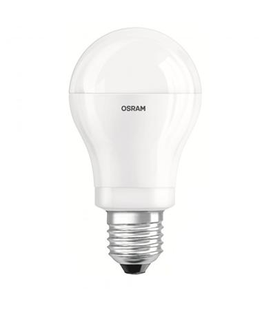 Lámpara Led Osram 9W.220V. Zócalo E27 dimerizable Calido