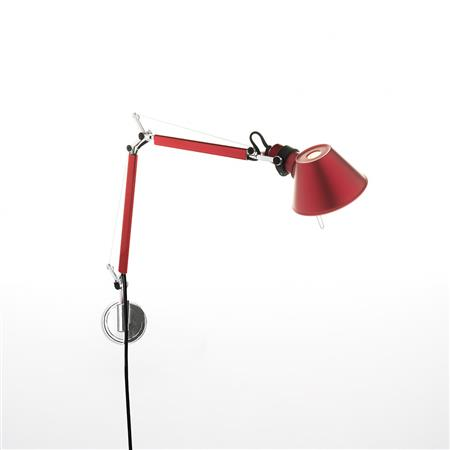 Tolomeo Micro Aplique de pared color Artemide
